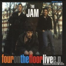 """Discos de vinilo: 7"""" THE JAM - FOUR ON THE FLOOR LIVE E.P. - FOTF7-001 - VINILO TRANSPARENTE - NUEVO !!!. Lote 278429403"""