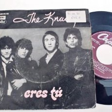 Discos de vinilo: THE KNACK-SINGLE ERES TU. Lote 278431313