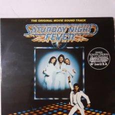 Discos de vinilo: SATURDAY NIGHT FEVER. BSO. 2 LP. GATEFOLD. 1977 ESPAÑA. 26 58 123 (59). DISCOS VG++. CARÁTULA VG+.. Lote 278433343