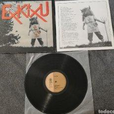 Discos de vinilo: EXKIXU – EXKIXU EXKIXU LP VINILO GOR – G-516 ( KORTATU SKALARIAK NEGU GORRIAK MUGURUZA. Lote 278433803