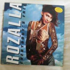 Discos de vinilo: ROZALLA-EVERYBODY´S FREE.LP ESPAÑA. Lote 278434438