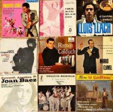 Discos de vinilo: LOTE 9 EP'S FOLKLORE NACIONAL. Lote 278434868
