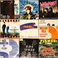 Discos de vinilo: LOTE 10 SINGLE NACIONAL 90'SVARIADO. Lote 278434883