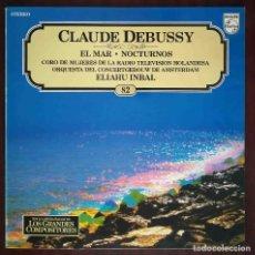 Discos de vinilo: SALVAT LOS GRANDES COMPOSITORES Nº 82. CLAUDE DEBUSSY. EL MAR. NOCTURNOS.. Lote 278434963