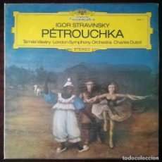 Discos de vinilo: DEUTSCHE GRAMMOPHON: IGOR STRAVINSKY. PÉTROUCHA.. Lote 278435128