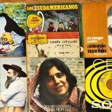 Discos de vinilo: LOTE 7 SINGLES EP'S MUSICA LATINA. Lote 278435368