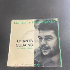 Discos de vinilo: CHANTS CUBAINS. Lote 278436928