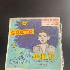 Discos de vinilo: JOSELITO. Lote 278437028