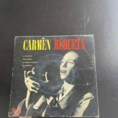 Discos de vinilo: CARMEN REQUETA. Lote 278437053