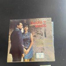 Discos de vinilo: CLARA Y MARIO. Lote 278437078