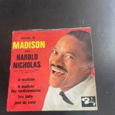 Discos de vinilo: DANSEZ LE MADISON. Lote 278437093