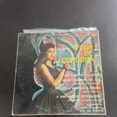 Discos de vinilo: FLOR DE CORDOBA. Lote 278437538