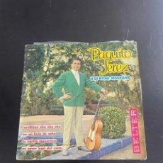 Discos de vinilo: PAQUITO JEREZ. Lote 278438053