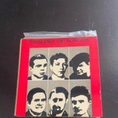 Discos de vinilo: PROCESO DE BURGOS. Lote 278438648