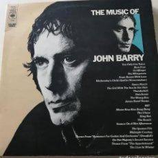 Discos de vinilo: JOHN BARRY – THE MUSIC OF JOHN BARRY - RECOPILACIÓN DOBLE 1976 - EDICIÓN BRITÁNICA. Lote 278442833