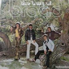 Discos de vinilo: THE BEST OF BREAD - ELEKTRA 1972 - EDICIÓN BRITÁNICA. Lote 278442853