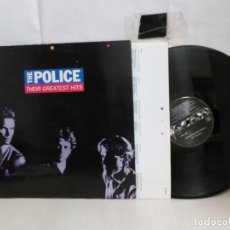 Discos de vinilo: THE POLICE --THEIR GREATEST HITS--AM RECORDS-1990--MADRID- POLYGRAM-. Lote 278446468