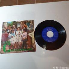Discos de vinilo: 21-1.LOS GIRALDILLOS-CARIÑOS GEMELOS/ QUE NO ME QUIERO CASAR/ BISSAU NOVA, SI O NO/ REPICA EL BONGO.. Lote 278451753