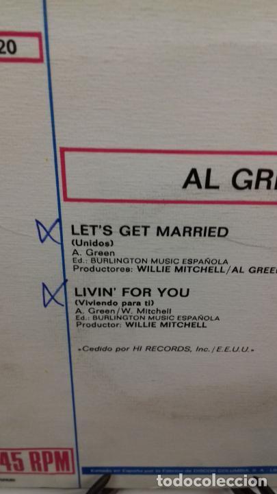 Discos de vinilo: Allí Green le get,s married - Foto 2 - 278452913