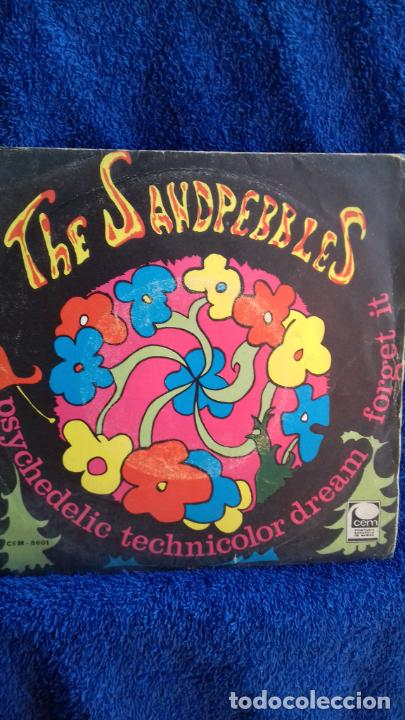 THE SANDPEBLES .FORGETIT-PSYCHEDELIC TECNICOLOR DREAM (Música - Discos - Singles Vinilo - Funk, Soul y Black Music)