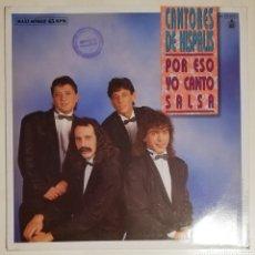 Discos de vinilo: CANTORES DE HISPALIS Y PALOMA SAN BASILIO. Lote 278458013