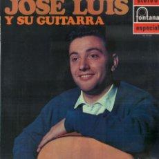 Discos de vinilo: JOSE LUIS Y SU GUITARRA - MISMO TITULO / LP ALBUM FONTANA 1971 / BUEN ESTADO RF-9934. Lote 278458948