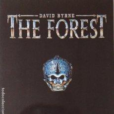 Discos de vinilo: DAVID BYRNE- THE FOREST- EUROPE LP 1991 + ENCARTE- TALKING HEADS- VINILO COMO NUEVO.. Lote 278459083