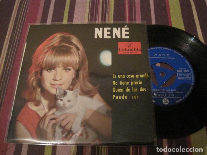 EP NENE ES UNA COSA GRANDE COLUMBIA 80717 TRI CENTER (Música - Discos de Vinilo - EPs - Solistas Españoles de los 50 y 60)