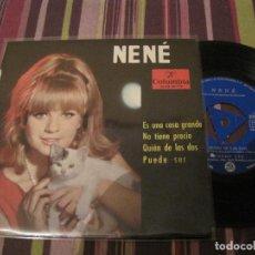 Discos de vinilo: EP NENE ES UNA COSA GRANDE COLUMBIA 80717 TRI CENTER. Lote 278459403