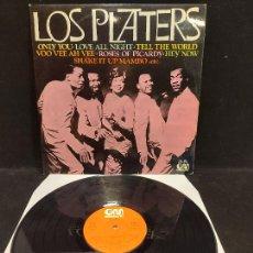 Discos de vinilo: LOS PLATTERS / MISMO TÍTULO / LP - GRAMUSIC-1977 / MBC. ***/***. Lote 278462568
