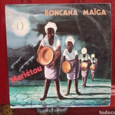 Discos de vinilo: BONCANA MAÏGA–MARIÉTOU. MAXI VINILO EDICIÓN ORIGINAL DE COSTA DE MARFIL. AFROBEAT - SOUL - FUNK. Lote 278462658