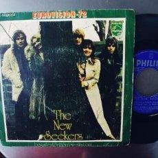 Discos de vinilo: THE NEW SEEKERS-SINGLE EUROVISION 72. Lote 278463298
