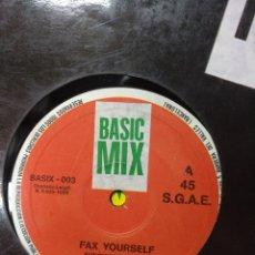 Discos de vinilo: FAX YOURSELF - SUNSHINE 89. Lote 278464368