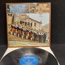 Discos de vinilo: CORO RONDA GARCILASO DE TORRELAVEGA / CANCIONES MONTAÑESAS / LP-COLUMBIA-1971 / MBC. ***/***. Lote 278464718