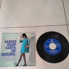 Discos de vinilo: SANDIE SHAW - MARIONETAS EN LA CUERDA - EP - SPAIN - HISPAVOX - PR. Lote 278468013