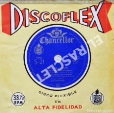 Discos de vinilo: MAGNIFICO SINGLE EN DISCOFLEX DE : FRANKIE AVALON - CANCIÓN DEL ALAMO. Lote 278468908