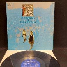 Discos de vinilo: EL CARNAVAL DE SAN SEBASTIAN / VARIOS GRUPOS / LP - COLUMBIA-1974 / MBC. ***/***. Lote 278469143