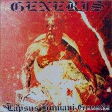 Discos de vinilo: GENERIS – LAPSUS HUMANI GENERIS. Lote 278469643