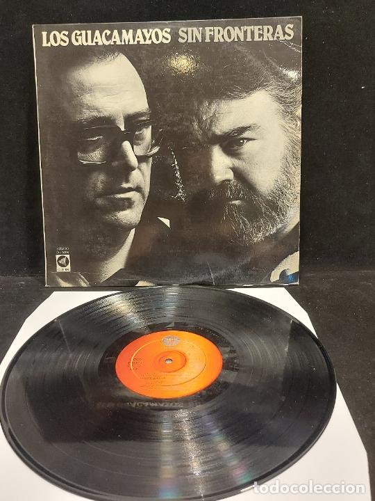 LOS GUACAMAYOS / SIN FRONTERAS / LP - CUSPIDE - 1981 / MBC. ***/*** (Música - Discos - LP Vinilo - Otros estilos)