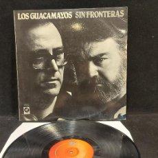 Discos de vinilo: LOS GUACAMAYOS / SIN FRONTERAS / LP - CUSPIDE - 1981 / MBC. ***/***. Lote 278469813