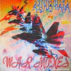Discos de vinilo: ALDUS HAZA – WAR MIXES. Lote 278470023