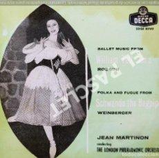 Discos de vinilo: MAGNIFICO SINGLE DE : JEAN MARTINON - THE LONDON PHILHARMONIC ORCHESTRA. Lote 278470853