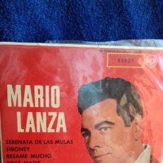 Discos de vinilo: MARIO LANZA .SERENATA DECÍAS MULAS.Y 3 MAS. Lote 278472248