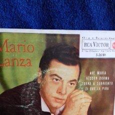 Discos de vinilo: MARIO LANZA .AVE MARIA Y 3 MAS. Lote 278472783