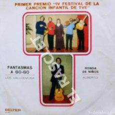 "Discos de vinilo: MAGNIFICO SINGLE DE : PRIMER PREMIO "" IV FESTIVAL DE LA CANCION INFANTIL DE TVE. Lote 278474703"