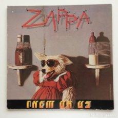 Discos de vinilo: FRANK ZAPPA – THEM OR US 2 VINYLS GERMANY,1984 EMI. Lote 278476873