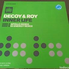 """Discos de vinilo: DECOY & ROY - INNER LIFE (12""""). Lote 278478933"""