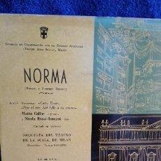 Discos de vinilo: MARIA CALLAS NORMA EP 4 CANCIONES. Lote 278482513