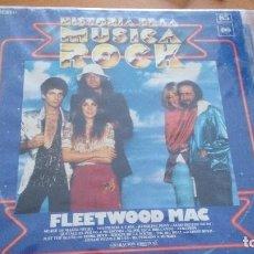 Discos de vinilo: FLEETWOOD MAC LP HISTORIA DE LA MUSICA ROCK. Lote 278485078