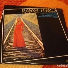 Discos de vinilo: RAFAEL FERRO LP ESTILO PROPIO GMA ORIGINAL ESPAÑA 1974 MINT LAMINADA LIBRARY JULIO IGLESIAS. Lote 278486628